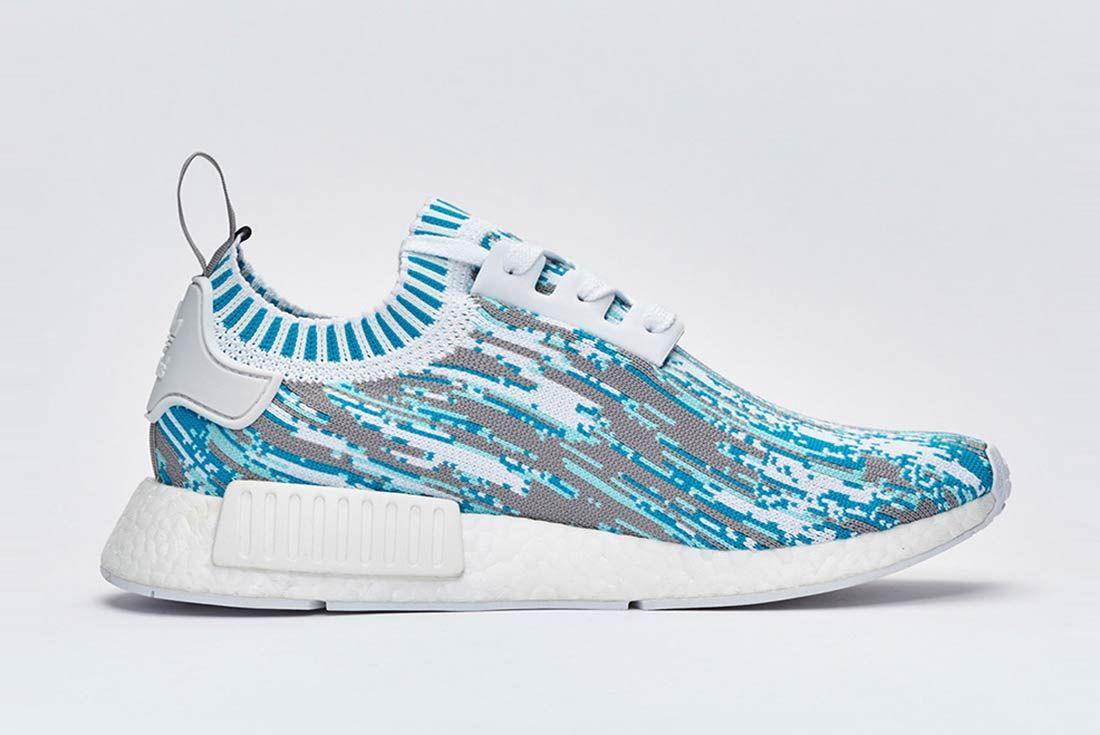 Sneakersnstuff X Adidas Nmd R1 Datamosh Pack 3