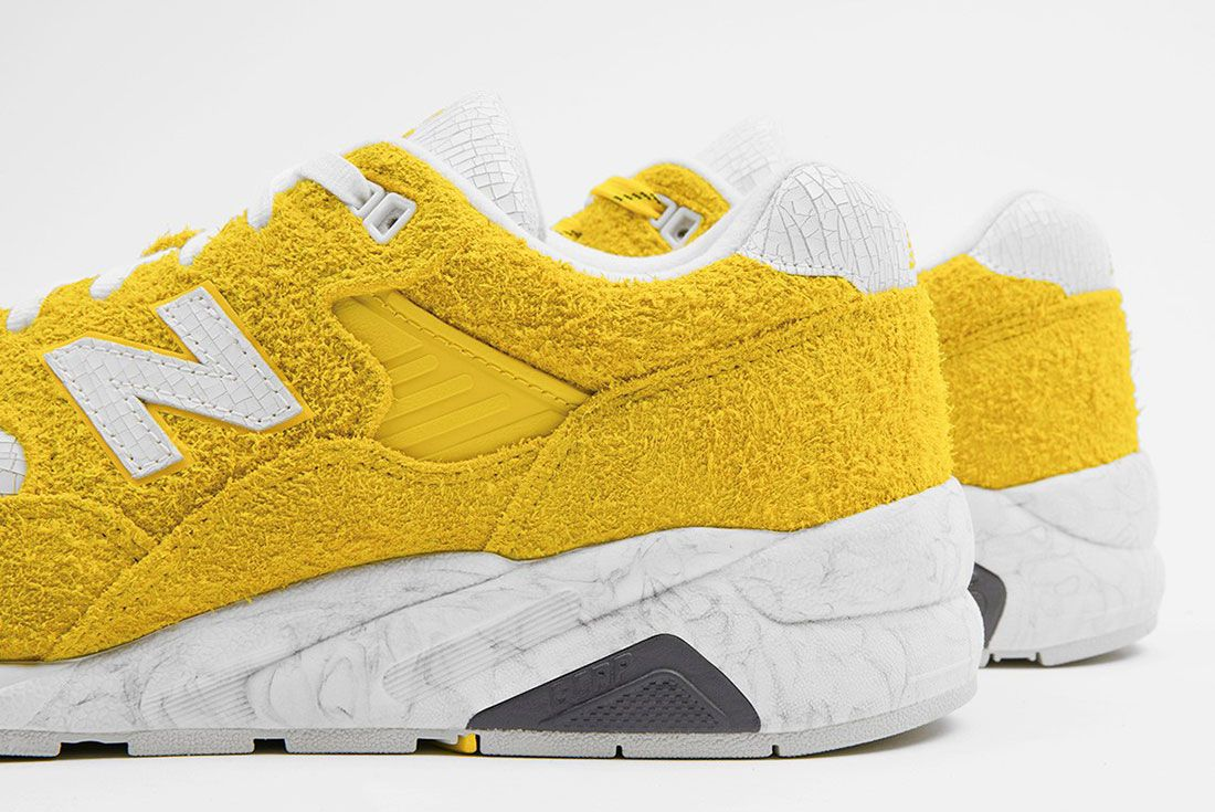 Randomevent X New Balance 580 Yellow 8 Up Close