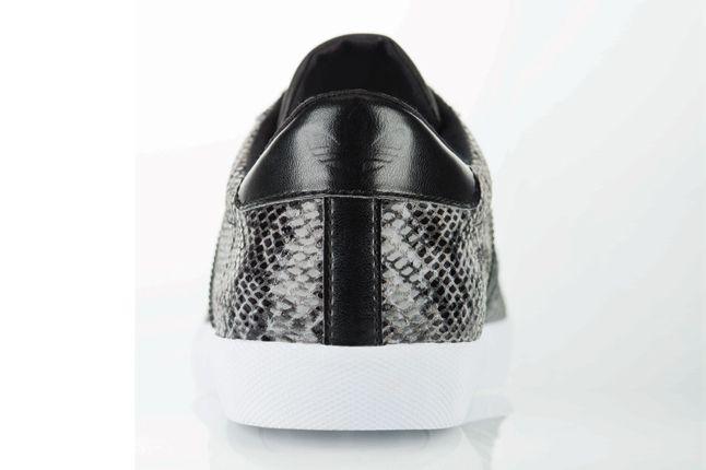 Adidas Mc Low Snake Skin Black Heel Profile 1
