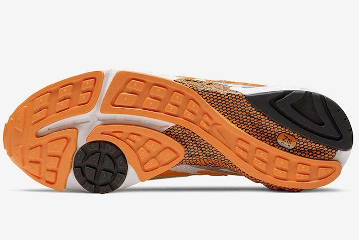 Nike Air Ghost Racer Orange Peel At5410 800 Sole