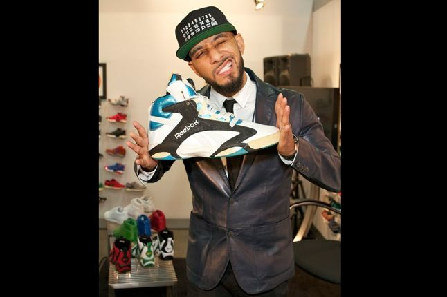 Reebok Shaq Launch Swizz Beatz 1