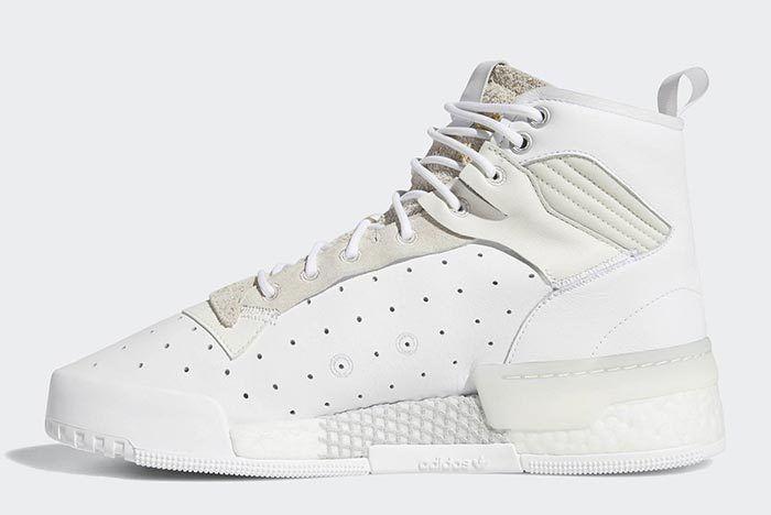 Adidas Rivalry Hi Boost White 3