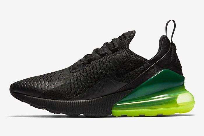 Nike Air Max 270 Black Neon 4