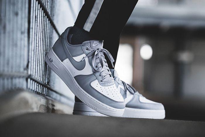Nike Air Force 1 Low White Grey Release 1 Sneaker Freaker
