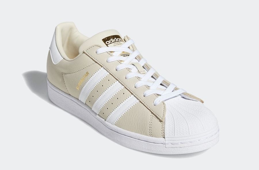 adidas Superstar Clear Brown Angled