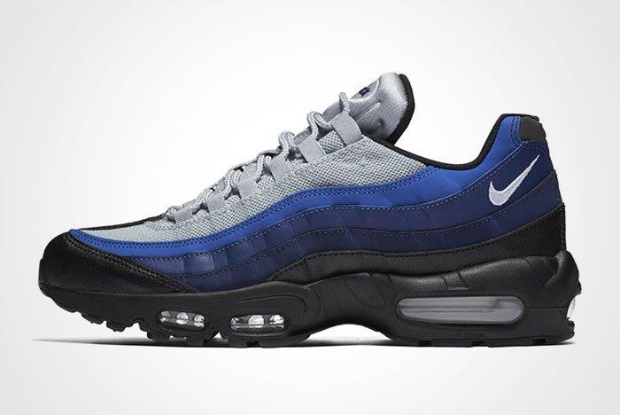 Bike Air Max 95 Essential Black Binary Blue Royal Thumb