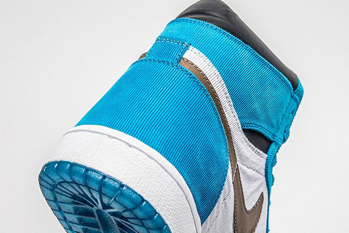 The Shoe Surgeon Air Jordan 1 Twix Cookies And Cream Heel 3