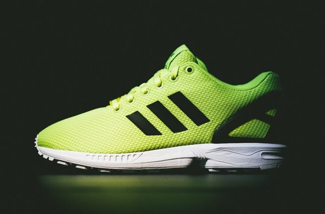 Adidas Zx Flux Electric Yellow Thumb