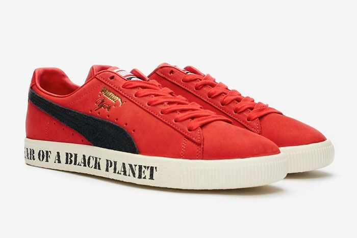 Public Enemy Puma Clyde Front Angle