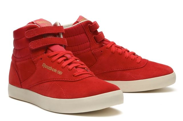 Reebok Classics Reserve The Franchise Hi Red 2