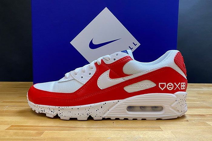 Mlb The Show Nike Air Max 90 Red
