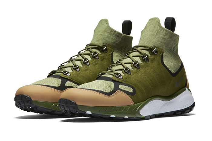 Nike Air Zoom Talaria Mid Flyknit Green Tan 3