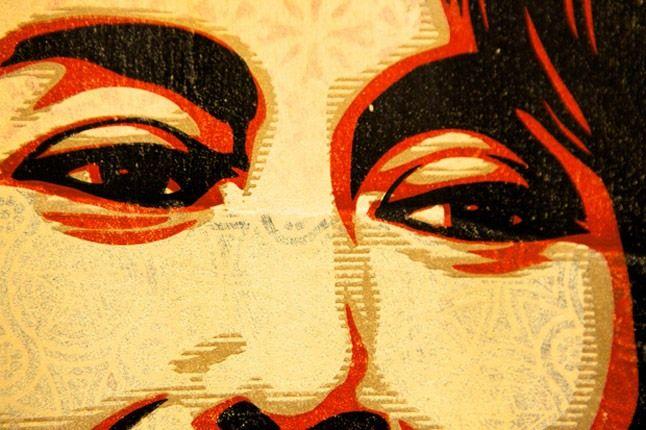 Shepard Fairey Printed Matters Exhibition Recap 0 1