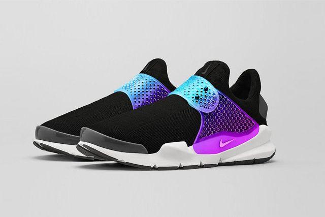 Nike Sock Dart Black Grape 3