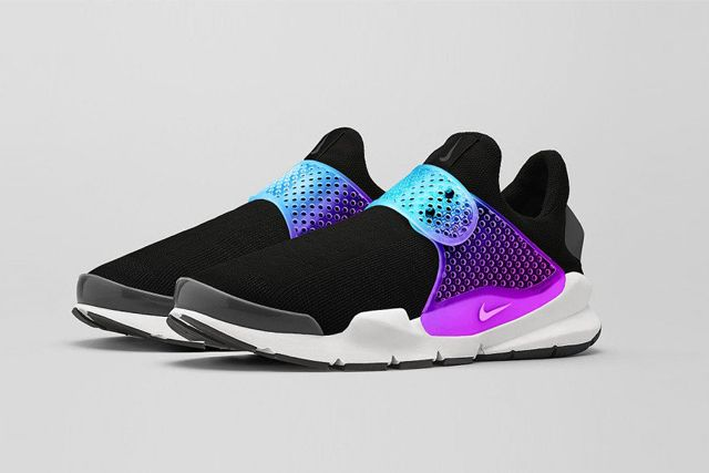 Nike Sock Dart Black Grape 3