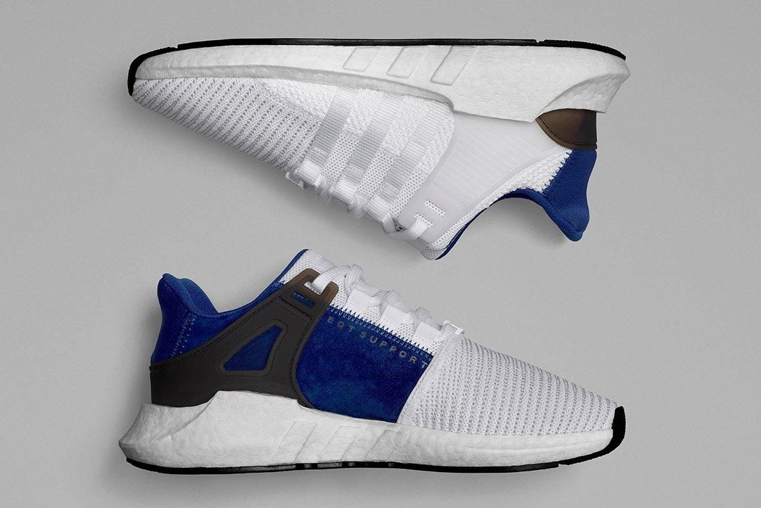 Adidas Eqt Support 93 17 White Blue 7