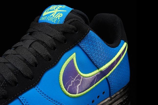 Nike Lunar Force One Superhero Blue Detail 1