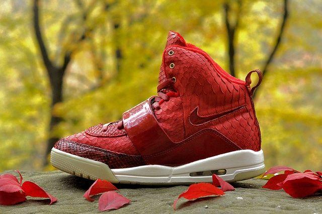 Jbf Customs Nike Air Yeezy 1 Red October 12