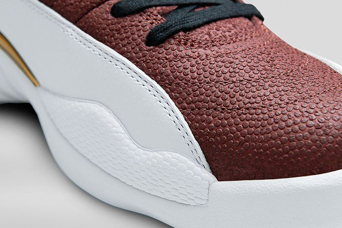 Air Jordan 12 Football Pe 3 Up Close