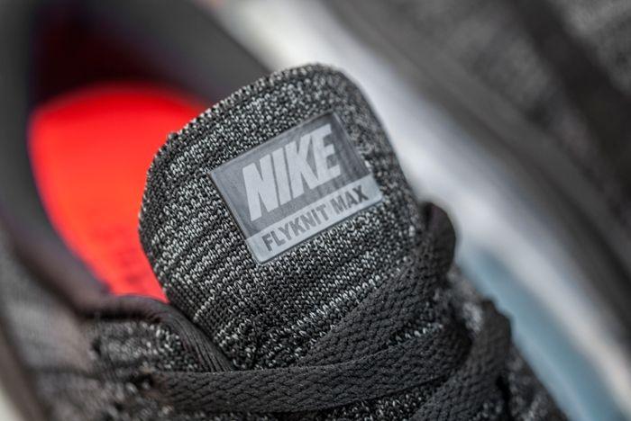 Nike Flyknit Max Black Dark Grey 4
