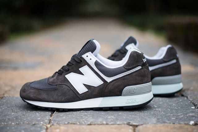 Nordstrom X Newbalance576 Brown Sideview