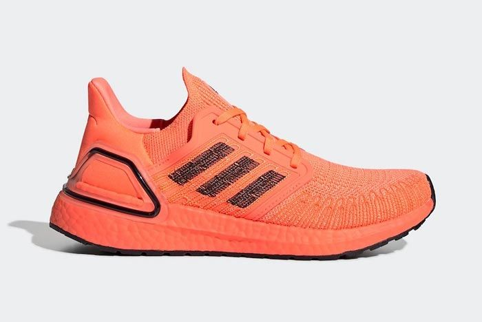Adidas Ultraboost 2020 Signal Coral Lateral