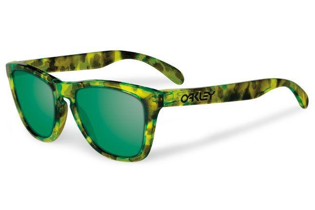 Oakley Acid Tortoise Frogskins Green 1