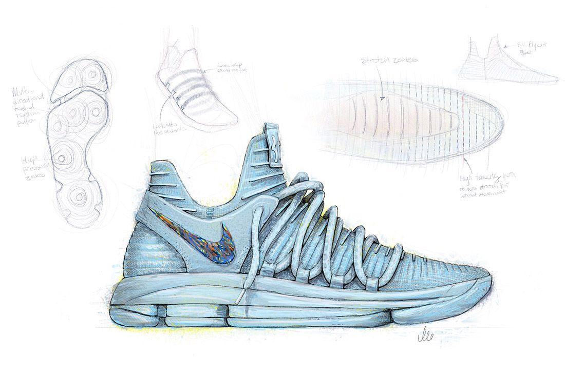 Material Matters Basketball Nike Kd 10 Design 1