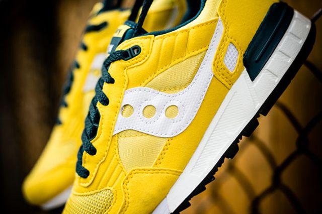 Saucony Shadow 5000 Yellow Green 3