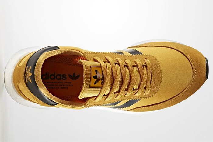 Adidas Iniki Boost Goldenrod 4
