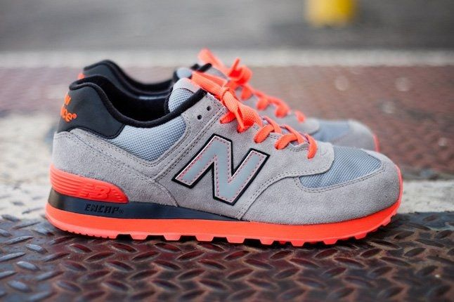 New Balance 574 Infrared Side Profile 1