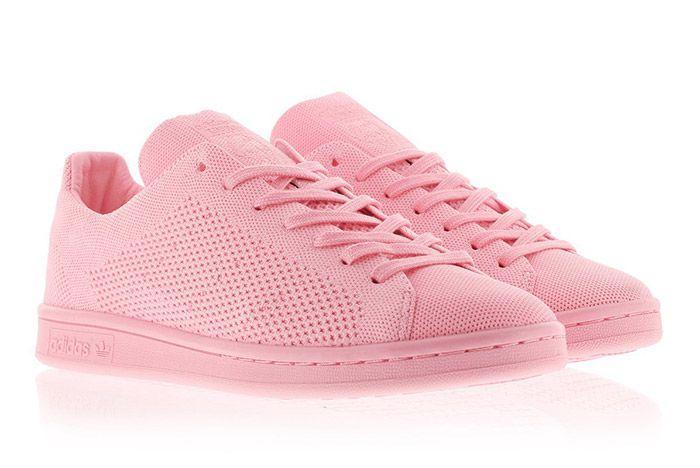 Adidas Stansmith Primeknit Pink 1