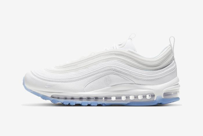Nike Air Max 97 White Ice Lateral