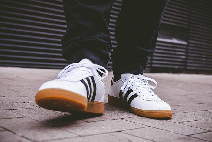 Adidas Munchen White Black Gum 2
