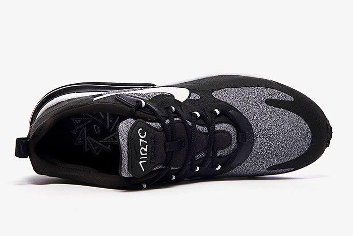 Nike Air Max 270 React White Grey Black Ao4971 001 Top Shot