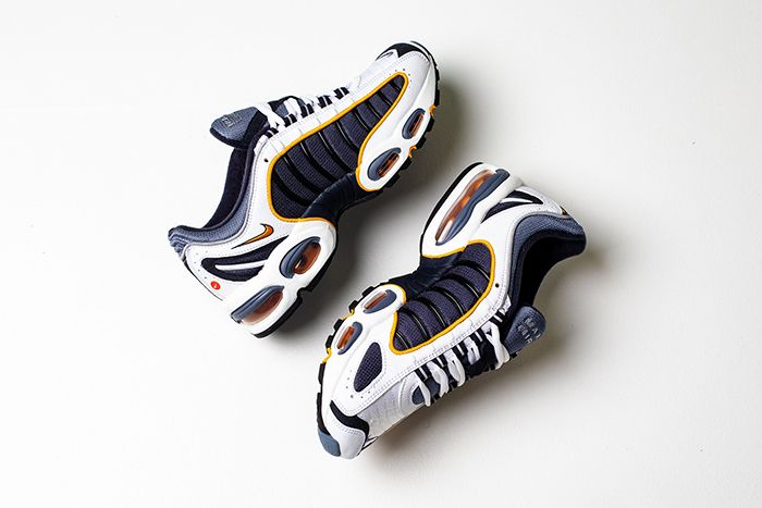 Nike Air Max Tailwind 4 Navy Gold Aq2567 200 Release Date Pair
