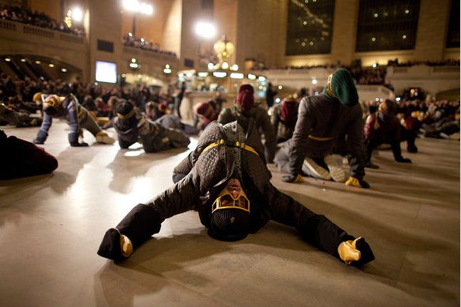 Moncler Native Flashmob 1 1
