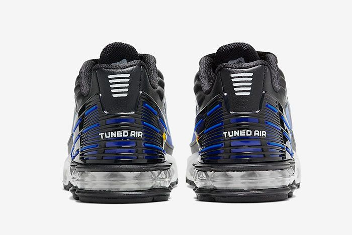 Nike Air Max Plus 3 Hyper Blue Cd6871 001 Heel