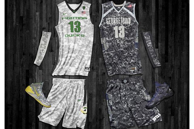 Nike Ducks Hoyas Bball Hoyas Ducks Kit