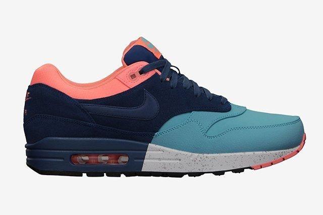 Nike Air Max 1 Split Pack Brave Blue Atomic Pink