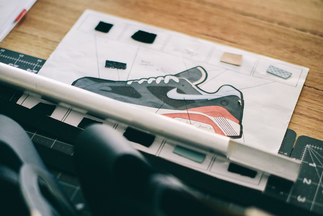 Bespoke Nike Sketch