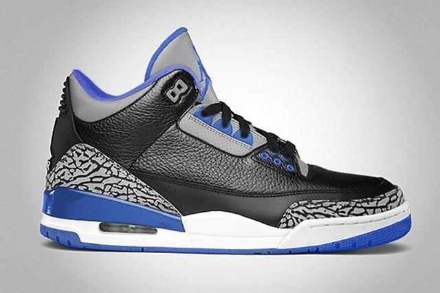 Air Jordan 3 2014 Sport Blue