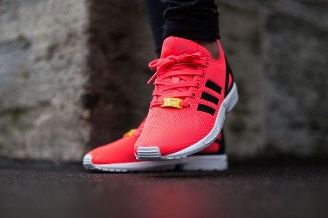 Adidas Originals Zx Flux Flame Red 3