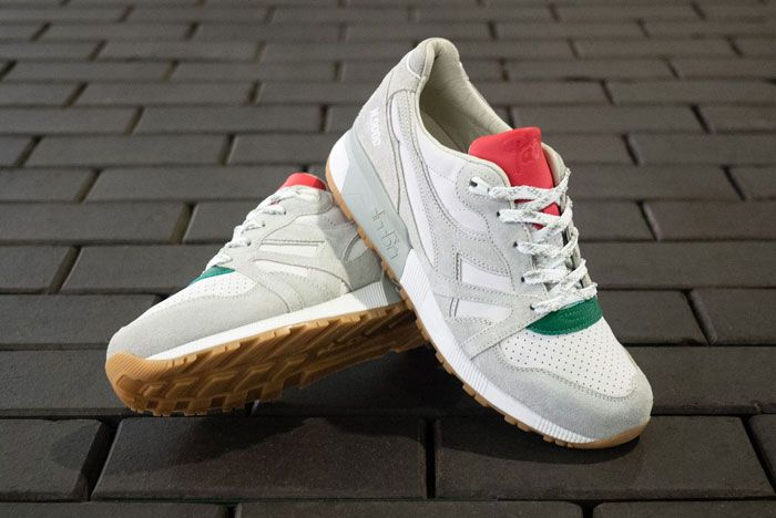 Patta X Diadora N9000 Italia Front Crossed Bottom