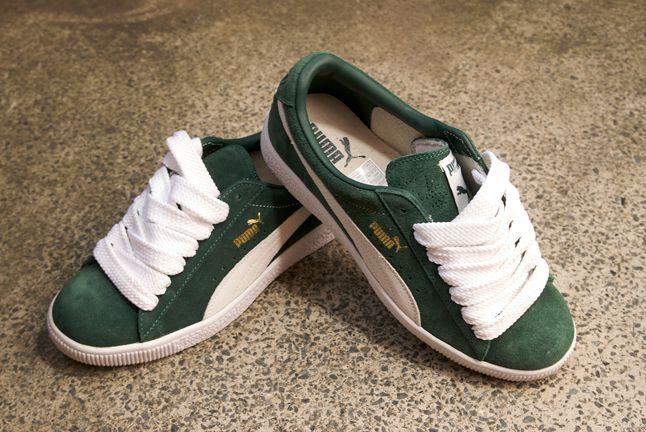 Puma Clyde Money Green 1
