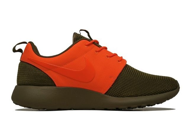 Nike Roshe Run 2Face Orange Inner Profile 1