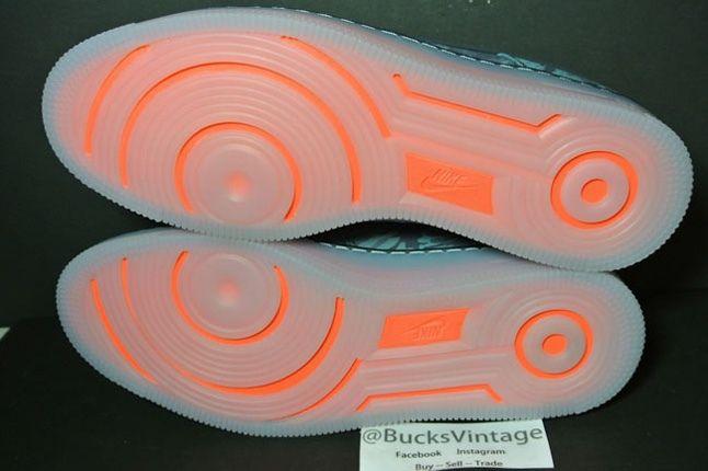 Nike Af1 Downtown Turqcamo Sole Profile 1