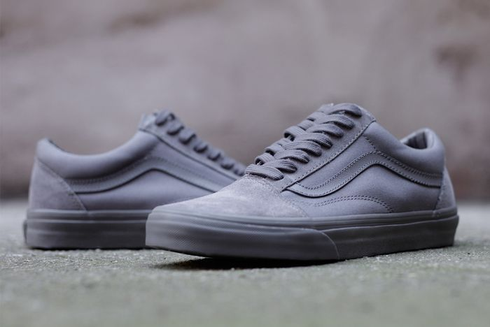 Vans Old Skool Mono Tornado Grey5
