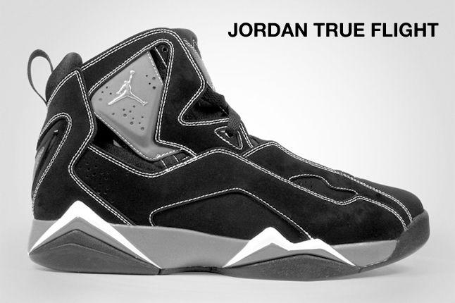 Jordan True Flight Black 1