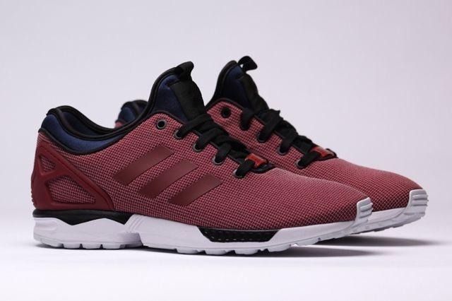 Adidas Zx Flux Nps Core Burgundy 6